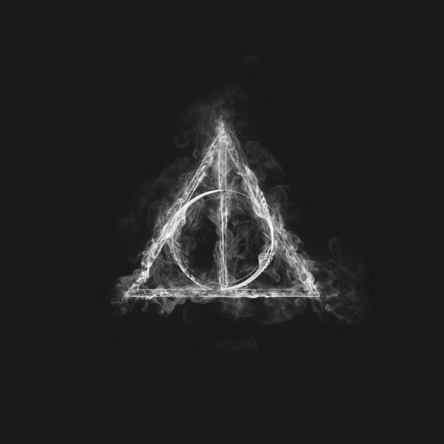 The Deathly Hallows Smoke Harry Potter T Shirt Teepublic