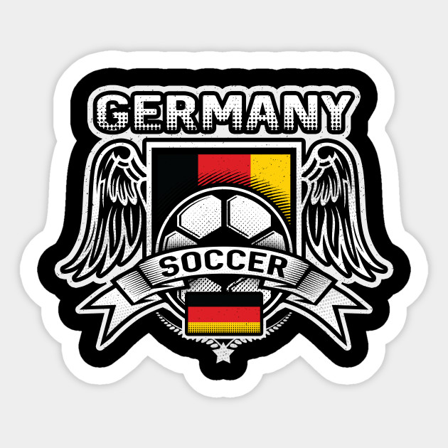 Germany Soccer Futbol Soccer Sticker Teepublic