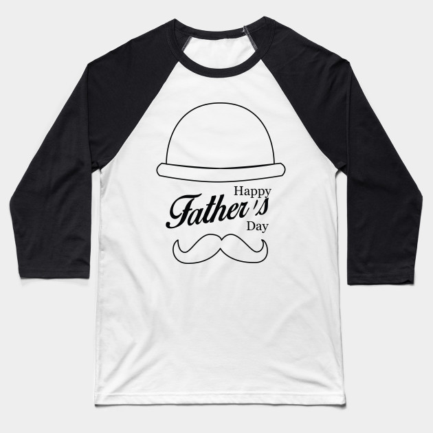 Happy Father's Day - Best Dad Baseball T-Shirt