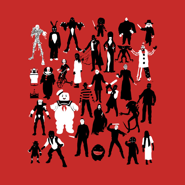 Horror Characters T-Shirt