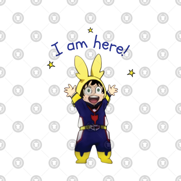 "Little Deku ""I Am Here!"" - Deku - T-Shirt"