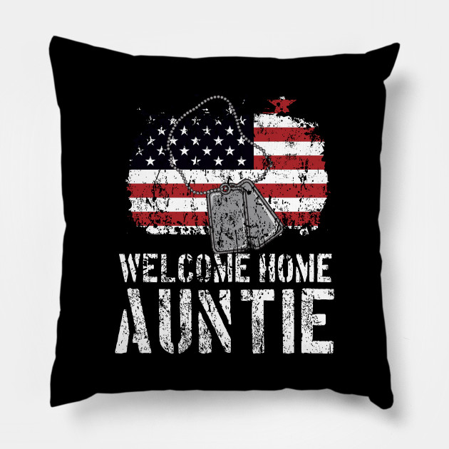 Welcome Home Auntie Military Matching Quote Gift Idea