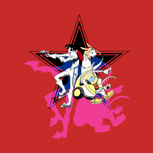 Space Dandy- Dandy Crew t-shirts