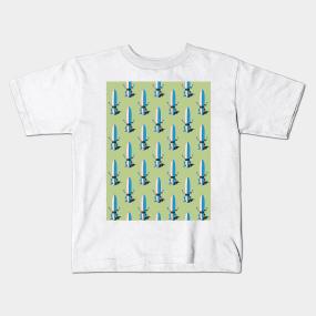 ec877c0f6c Surfboard Shaka Sign Pattern Kids T-Shirt