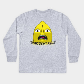 Lemongrab Unacceptable T Shirt Adventure Time T