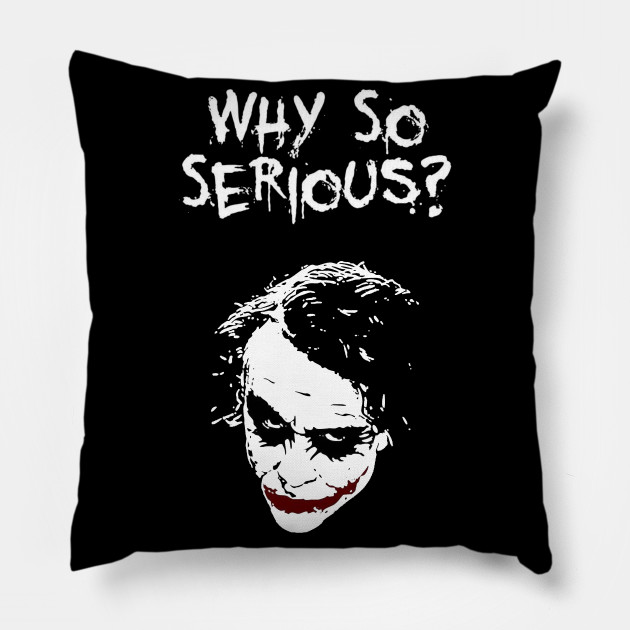 Funny Joker T-Shirt Batman Heath Ledger The Dark Knight Why So Serious