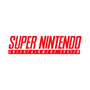 Super Nintendo t-shirts