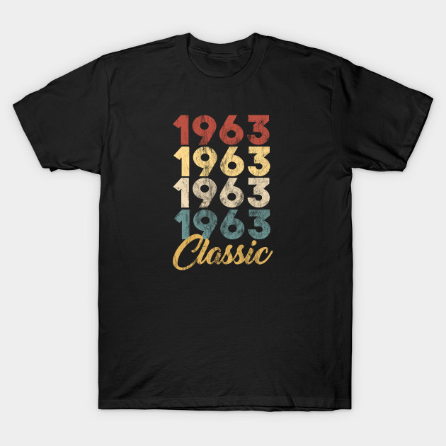 56th Birthday Gift for Men and Women Born in 1963 Classic 56th Birthday Party