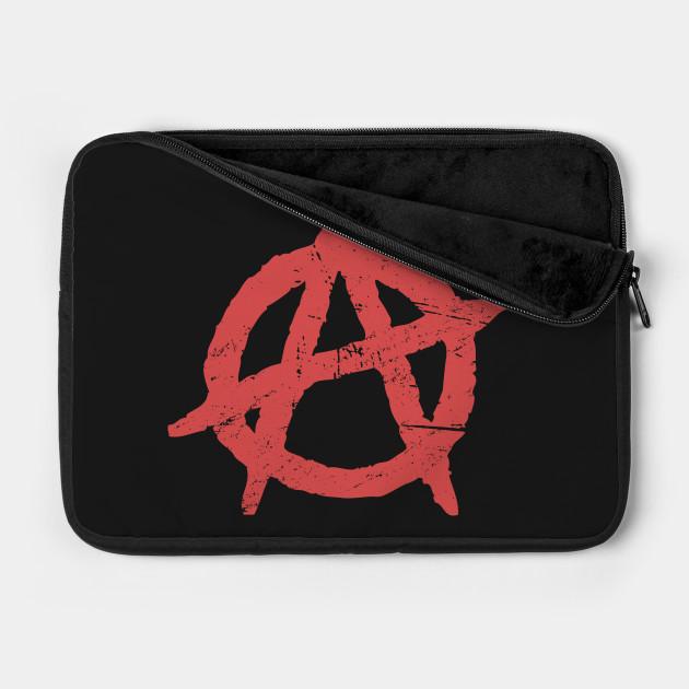 Distressed Punk Anarchy Symbol