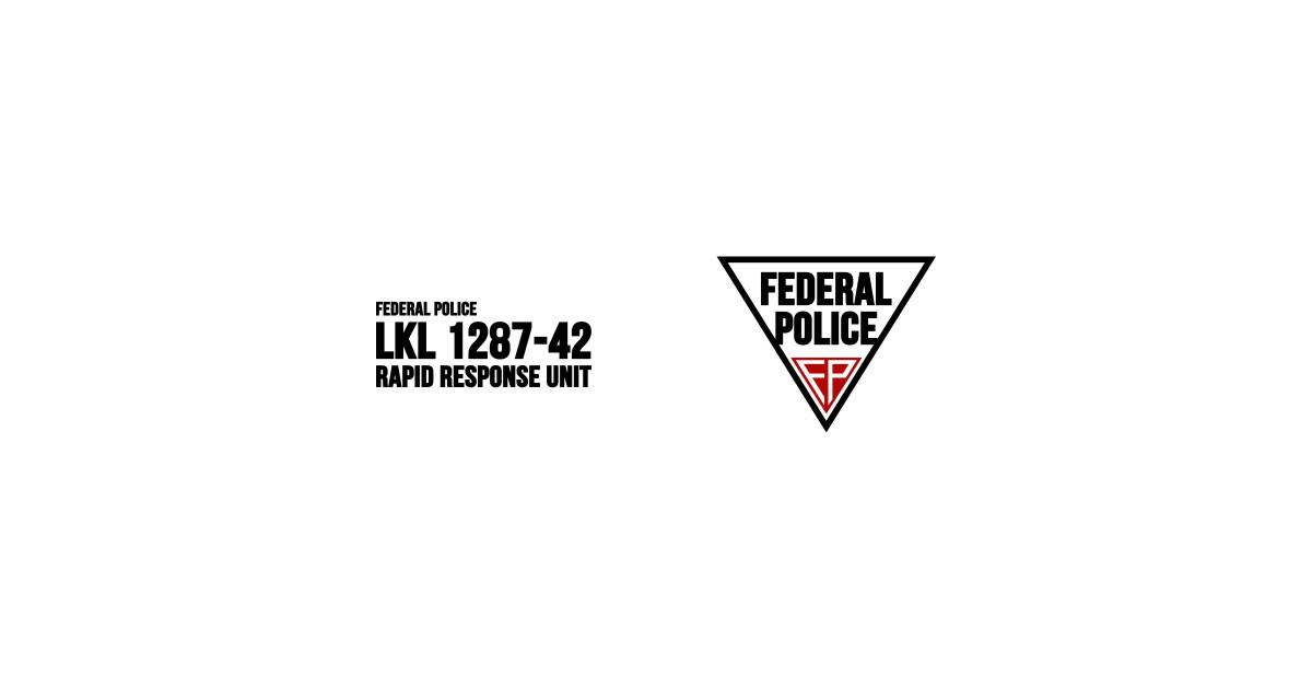 Federal police total recall t shirt teepublic