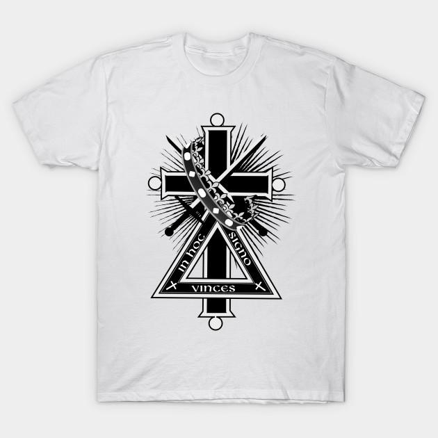 Masonic Cross Masonic Cross T Shirt Teepublic