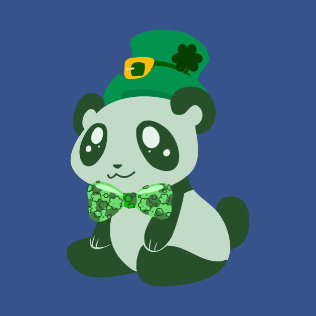 St. Patrick's Day Panda