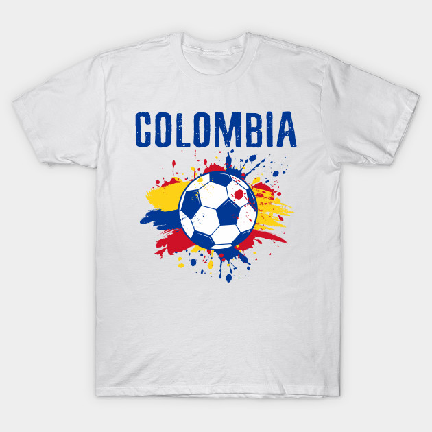 ffa06f6d0c0 Colombia Soccer Shirt Proud Fan Football Gift Cool Funny - Colombia ...