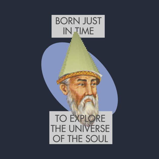 Rumi Gnome Child Meme: Born Just In Time to Explore the Universe of the Soul