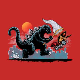 Catching Kaiju t-shirts