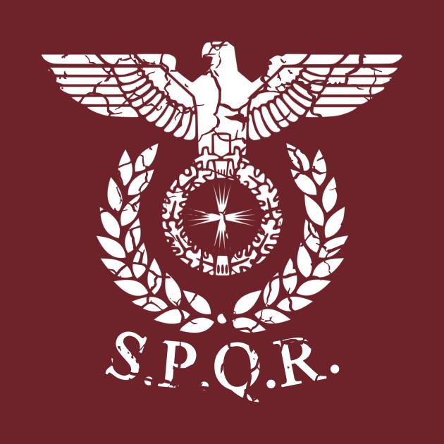 Roman Emblem SPQR