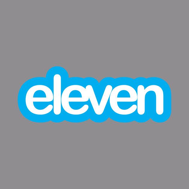 Stranger Things Eleven Twitter Logo