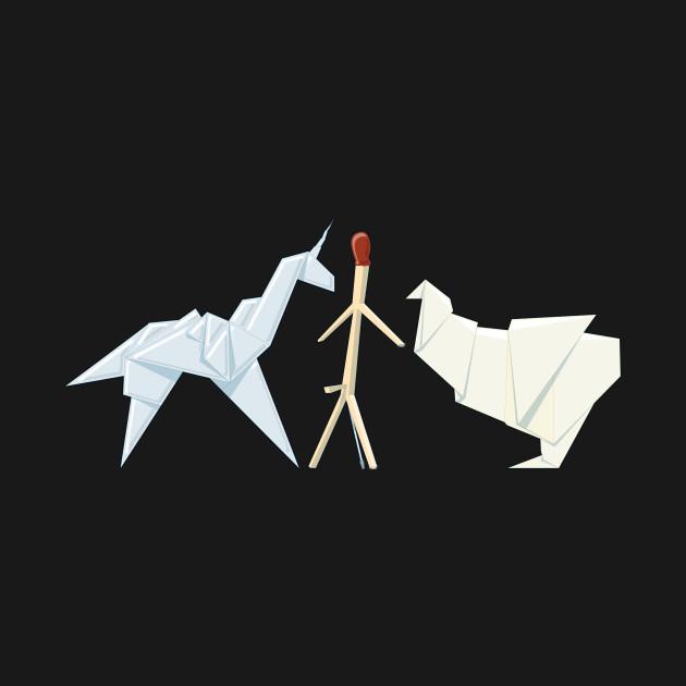 Blade Runner Origami Blade Runner Origami T Shirt Teepublic