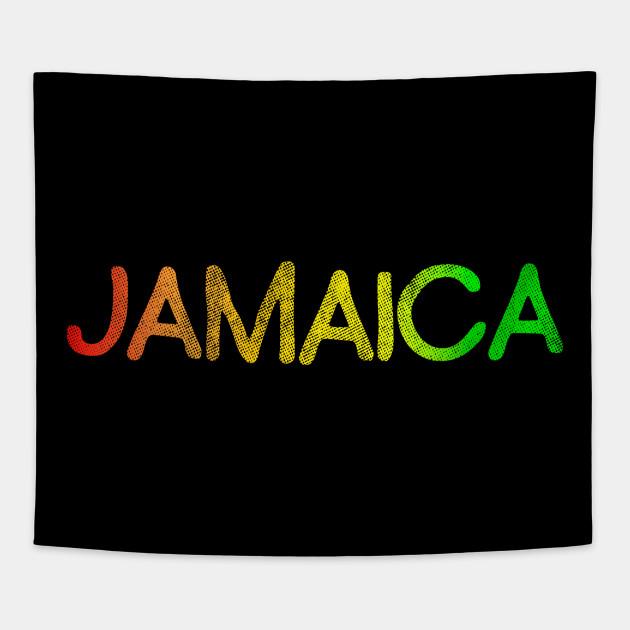 Jamaican Flag T-shirt Jamaica Gift Souvenir Tee