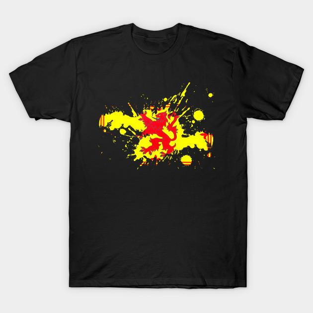 79ac54a0d Scotland Flag Lion Rampant - Scotland - T-Shirt | TeePublic