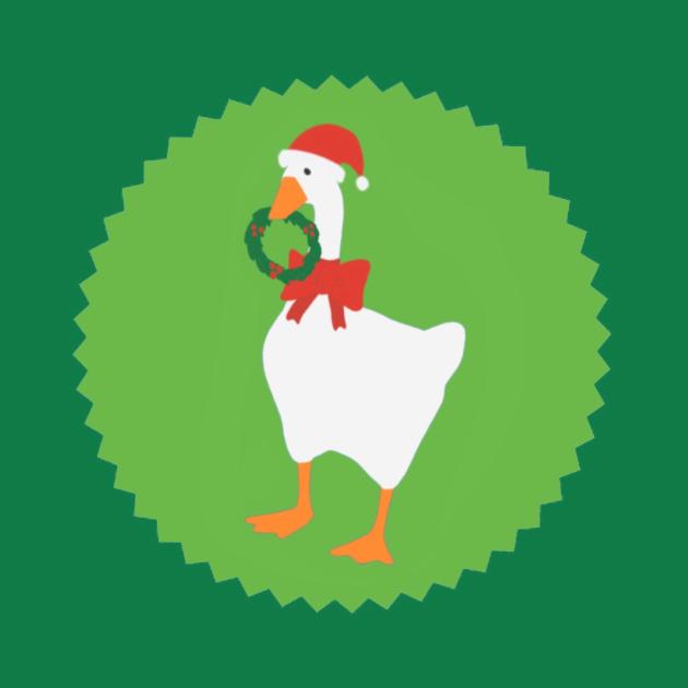 Untitled goose Christmas
