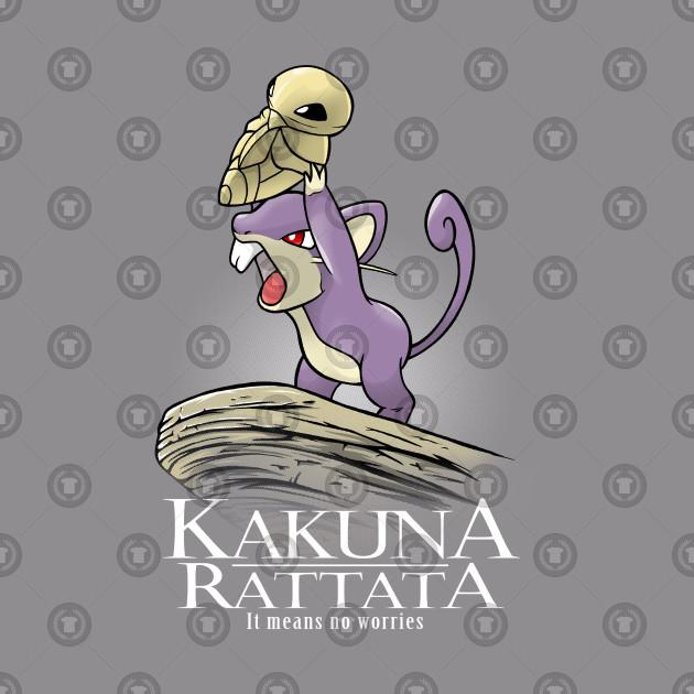 7dfaebd9 Kakuna Rattata - Pokemon - Tank Top | TeePublic
