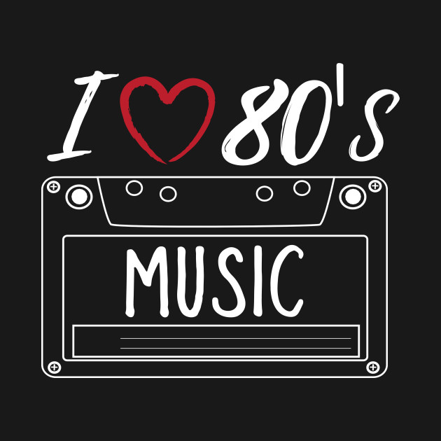 I love 80 39 s eighties music retro vintage style cassette - I love 80s wallpaper ...