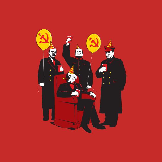 5fefbc4f The Communist Party II : The Communing - Communist - T-Shirt | TeePublic