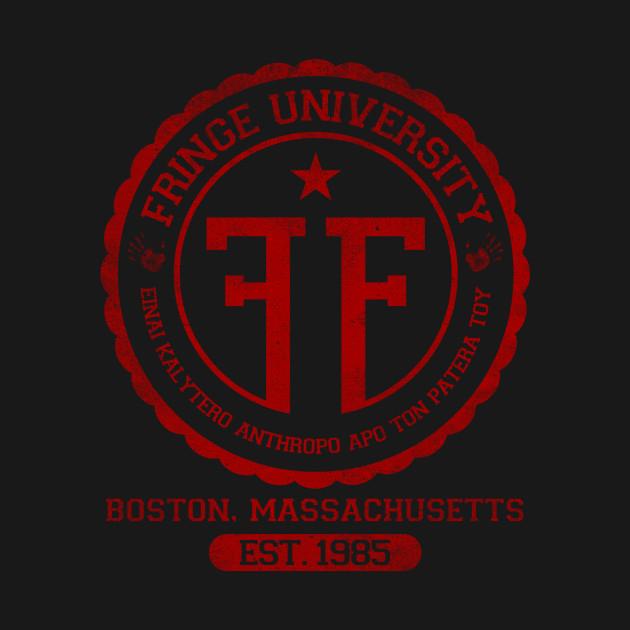 Fringe University - Red T-Shirt thumbnail