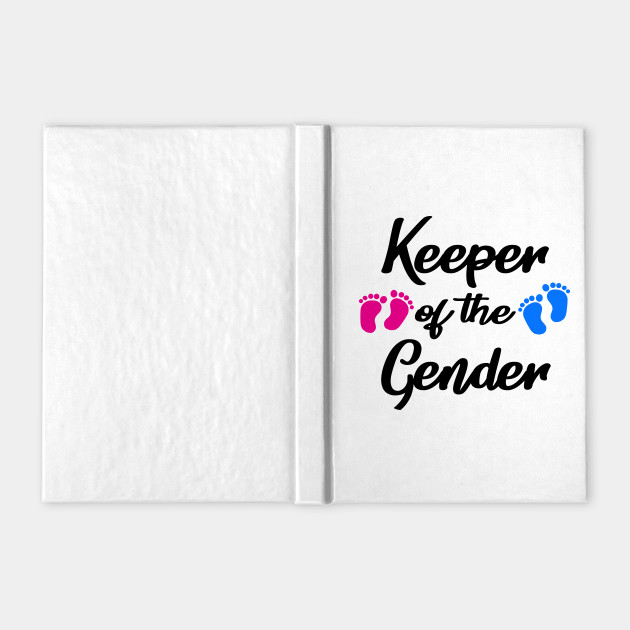 Keeper of Gender reveal party idea baby announceme
