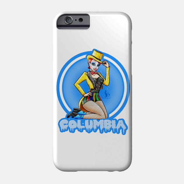 Columbia Blue Rocky Horror Picture Show Phone Case Teepublic