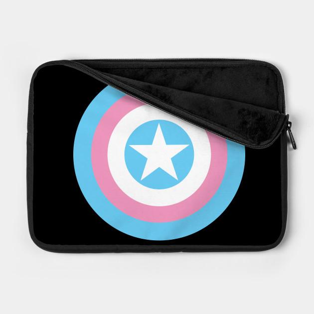 Trans Pride - Captain America