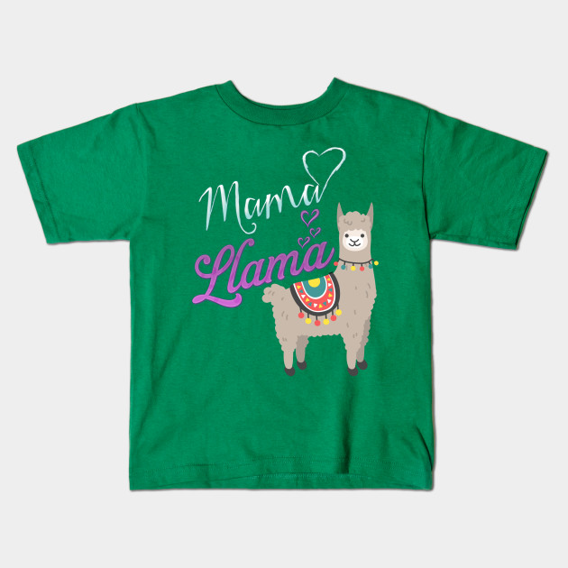 Llama Christmas Shirt.Mama Llama Tee Matching Family Christmas