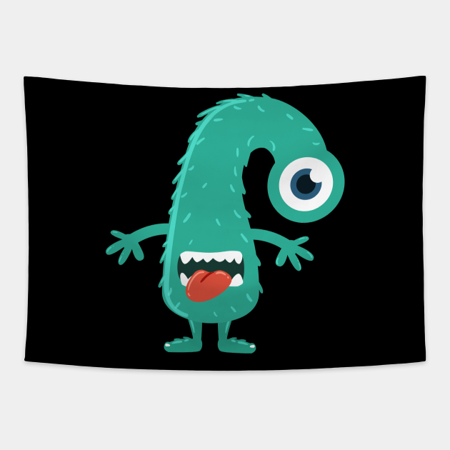 Cute Boo! I'm a Monster Face Halloween
