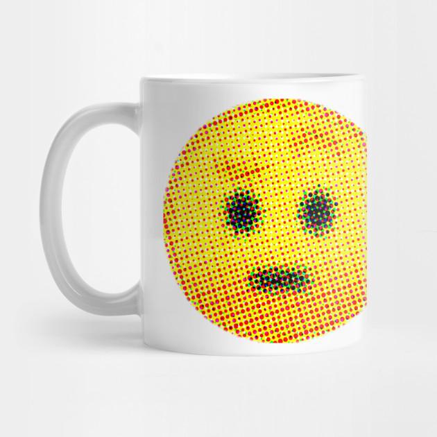 Emoji Suspicious Face With Raised Eyebrow Emojis Mug Teepublic