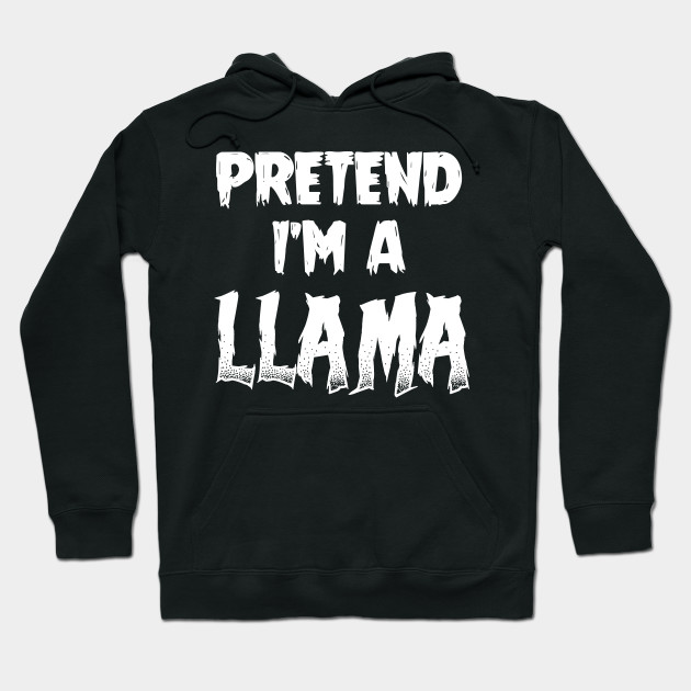 Llama Halloween Costume Gift I Halloween Party Hoodie