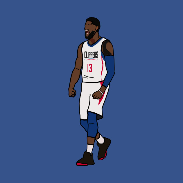 separation shoes 5c65e 0e2aa Paul George NBA LA Clippers