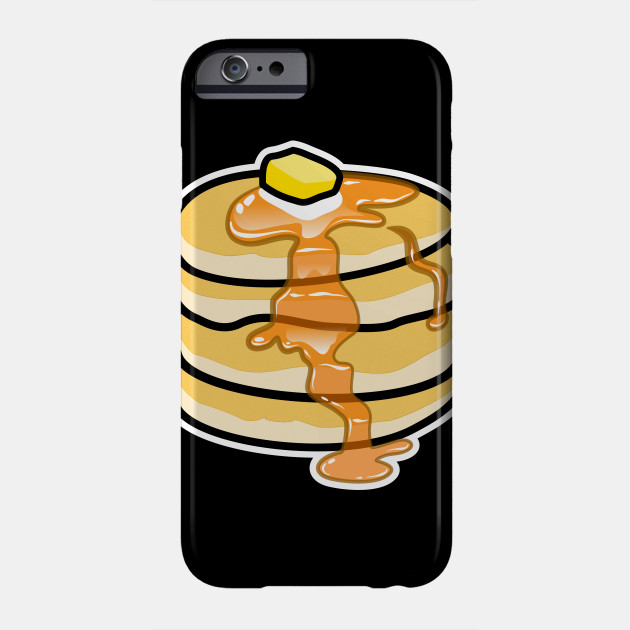 pancakes butter and syrup