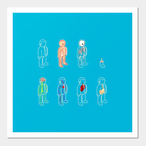 Body Parts Posters And Art Prints Teepublic