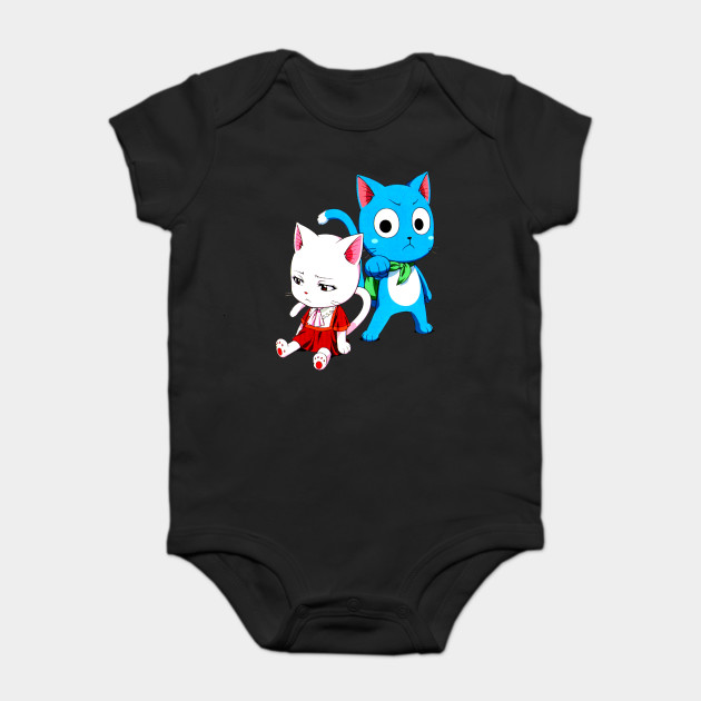 f7c40fd5bd7b Happy and Carla Fairy Tail - Fairy Tail - Onesie
