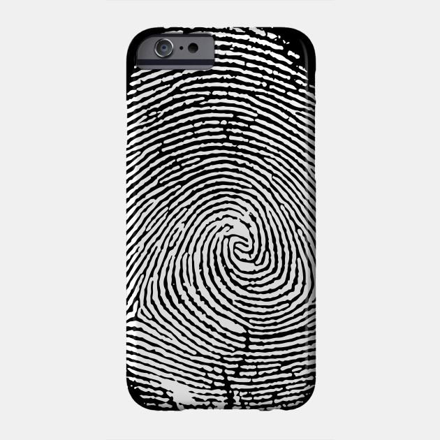 Fingerprint Forensic Science Criminal Investigation Criminologist Phone Case Teepublic