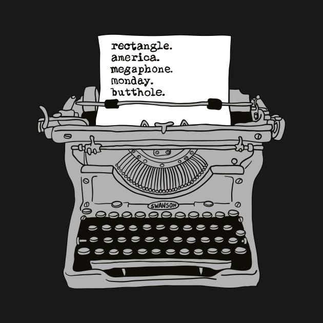 Ron Swanson Typewriter