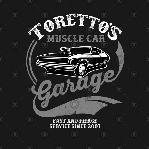 Toretto's Muscle Car Garage