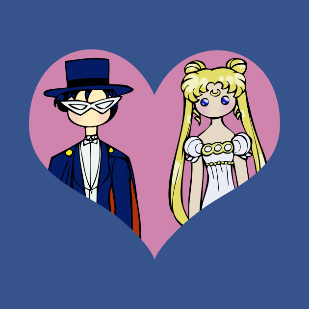 Mamoru and Usagi - shipping dolls