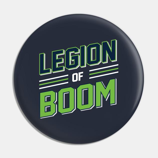 Legion Of Boom Seattle Seahawks Football Design