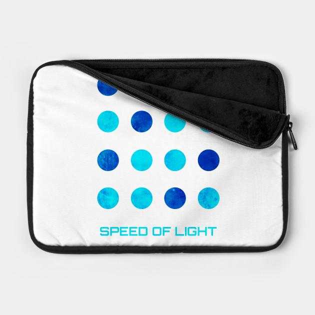 Speed of Light Grunge Logo