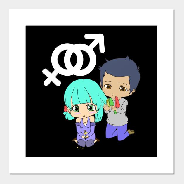 Cute Anime Couple Boy And Girl Manga