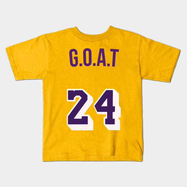 low priced 406a4 9856b Kobe Bryant 'GOAT' Nickname Jersey - Los Angeles Lakers