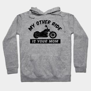 Funny Hoodie Biker Grandad Motorbike Birthday Joke Humour tee hooded HOODY
