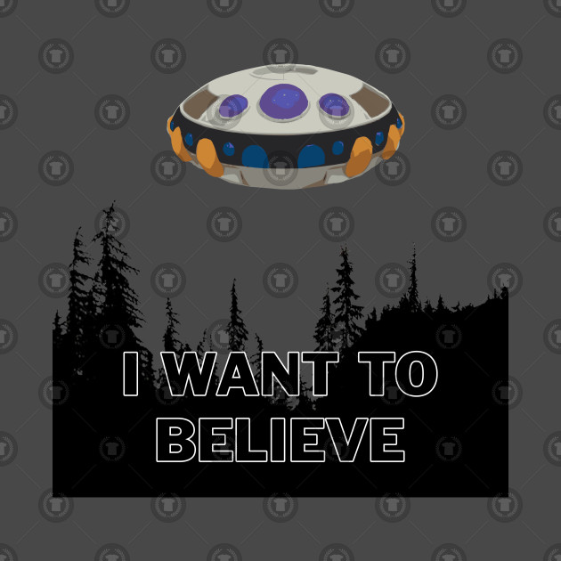 Frieza Spaceship - I want to believe